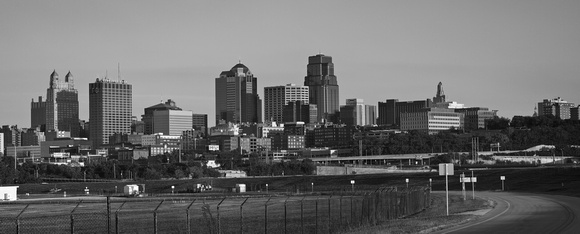 Kansas City skyline (north view)